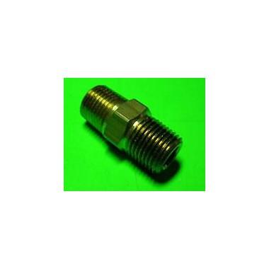 Pezón 1/8 recto Repuestos para sistemas de óxido nitroso