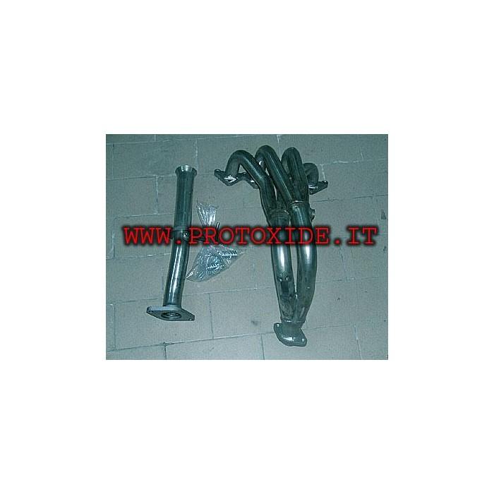 Collettore scarico acciaio Inox 4-2-1 Fiat Punto 16V 1a serie Euro2 Lancia Y Collettori in acciaio per motori Aspirati