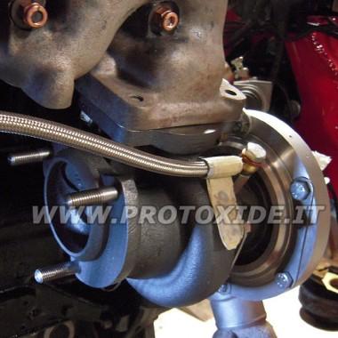 Compressor Turbo GTO221 duplo coxinete Lancia Delta 16v 320HP