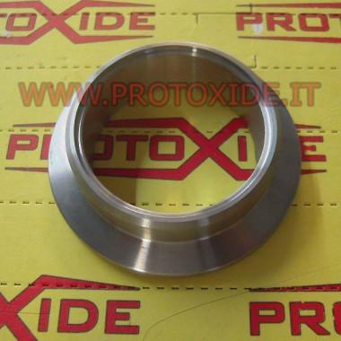 Brida de banda en V para tuercas de escape Tial GT28-GT30-GT35 lado de entrada de escape Pinzas y anillos V-Band