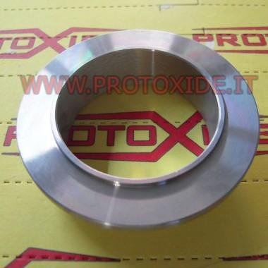 Flangia V-Band per chiocciola di scarico Tial GT28-GT30-GT35 lato ingresso scarico Fascette e anelli V-Band