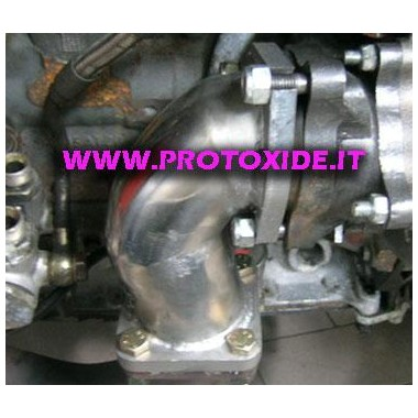 Downpipe קטר לנצ'יה דלתא טורבו GTO 410 Downpipe for gasoline engine turbo