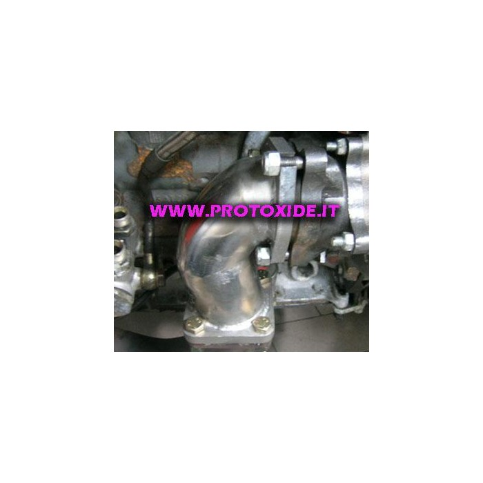 ランチアデルタターボ410 GTOための排気縦樋 Downpipe for gasoline engine turbo