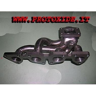 Peugeot 106 Uitlaatspruitstuk - Saxo 1.6 16V Turbo Stalen manifolds voor Turbo benzinemotoren