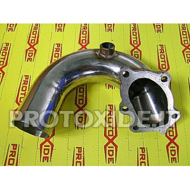 Downpipe Auspuff für Fiat Coupe 5 Zyl. - GT28 Downpipe for gasoline engine turbo