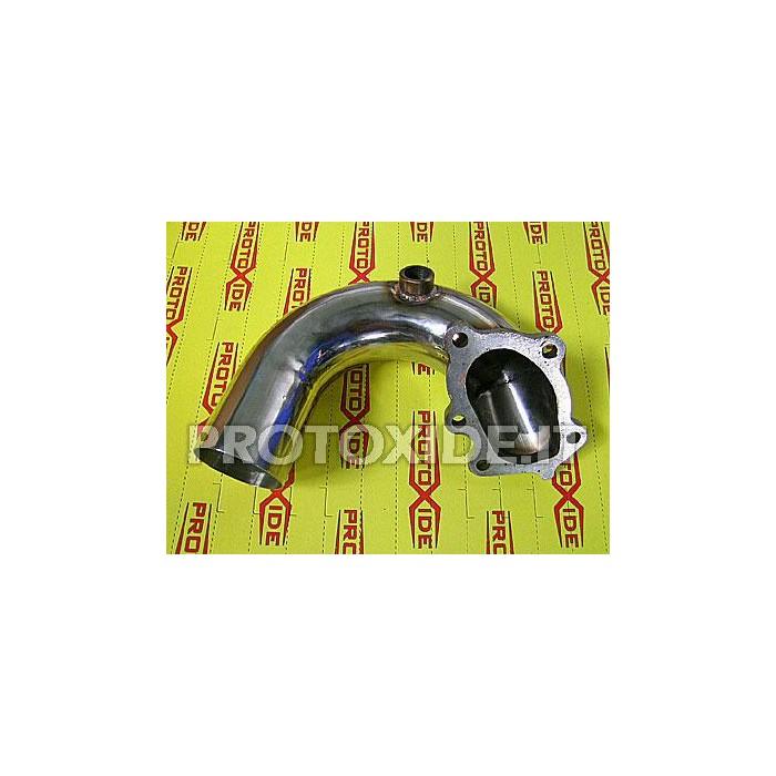 Downpipe Auspuff für Fiat Coupe 5 Zyl. - GT28 Downpipe for gasoline engine turbo