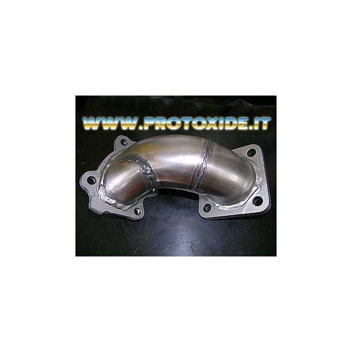 Downpipe العادم لانسيا دلتا 16V - T28 Downpipe for gasoline engine turbo