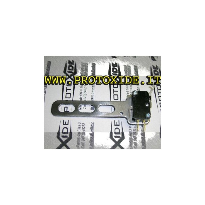 Microswitch with universal bracket Spare parts for nitrous oxide systems