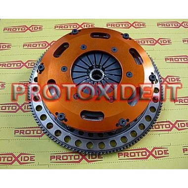 Steel flywheel kit with twin-disc clutch Lancia Delta 2.0 Turbo Flywheel kit with reinforced twin-disk clutch