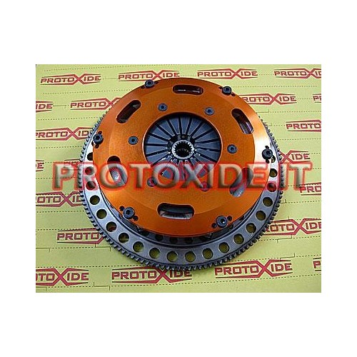 Steel flywheel kit with twin-disc clutch Lancia Delta 2.0 Turbo