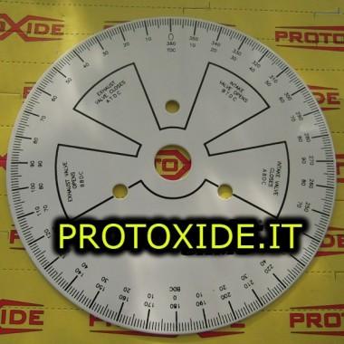 Uddannet dial for timing knaster - 280mm motor Diagnosticeringsværktøjer
