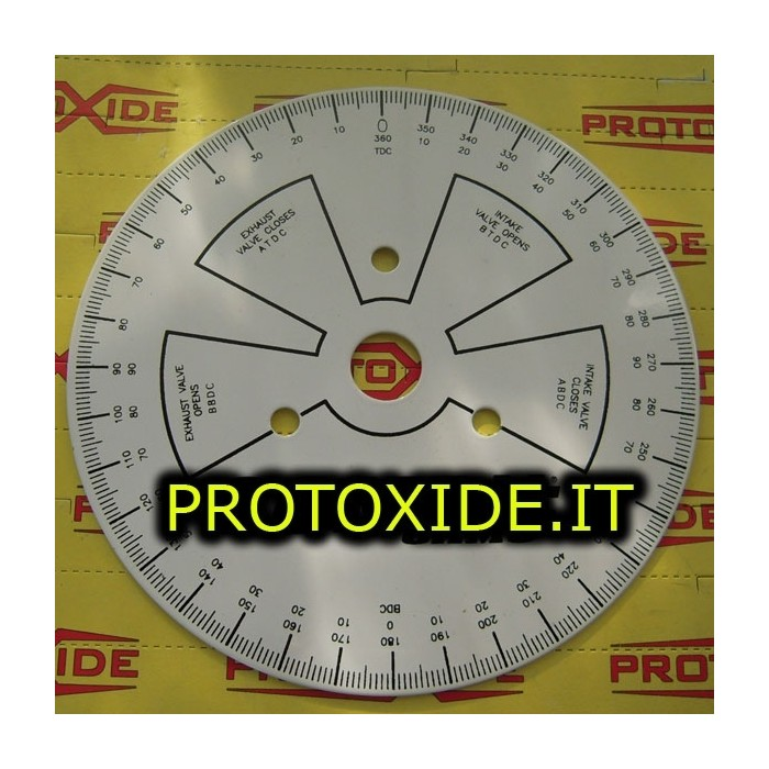 Graduated dial for timing cams - 280mm motor Diagnostic Tools