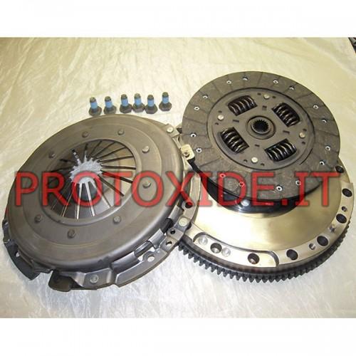 Single-mass flywheel kit JTD reinforced push-105hp 75-100 Steel flywheel kit complete with reinforced clutch