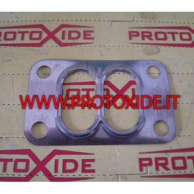 Junta para turbo T3-T4 dividido doble desplazamiento Juntas reforzadas de Turbo, Downpipe y Wastegate