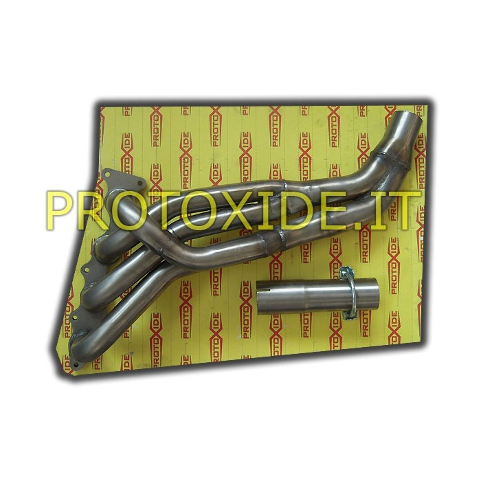 Collettore scarico acciaio Inox Suzuki G13B Samurai Sj 410-413 con motore Swift 1.300 16V Collettori in acciaio per motori As...