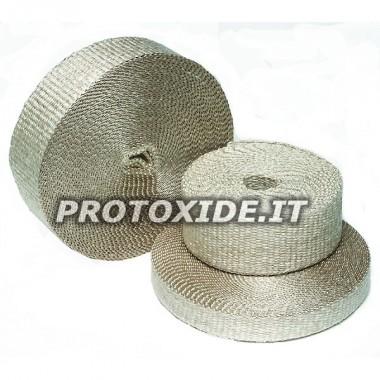 Benda per collettore scarico downpipe marmitta INFERNO 4.5m x 5cm 1100 gradi alte temperature Bende e Protezioni calore