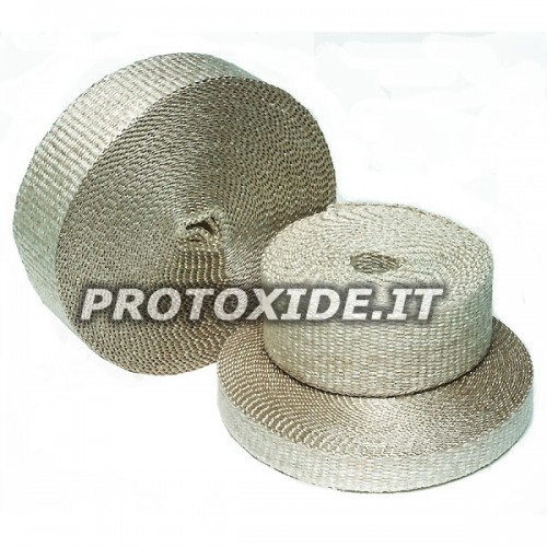 "Exhaust heat protection wrap band ""INFERNO"" 4.5m x 5cm"