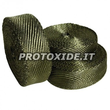"Exhaust heat protection wrap band ""LAVA"" 4.5m x 5cm"