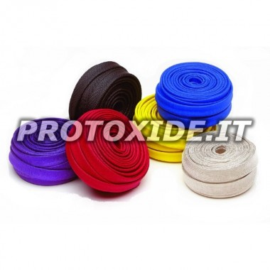 Stockage protection thermique 7-12mm x 7,5 mètres Bande de protection thermique