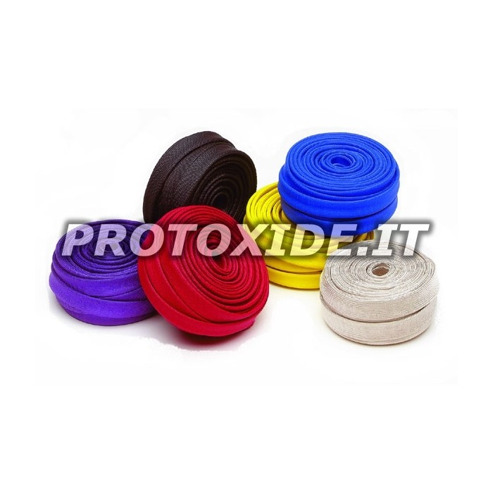 Colored thermal protection sleeving 7-12mm x 7,5 m