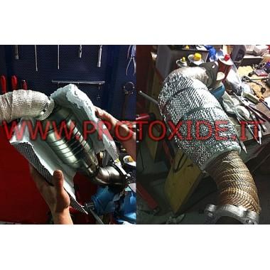 Termiskt skydd för avgas, Katalysatorer och Fap Bandage och värmeskydd