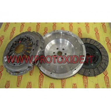 Kit aluminum single-mass flywheel, clutch reinforced T-Jet Abarth