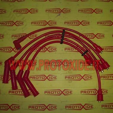 112 Abarth için buji kabloları Otomobiller için özel mum kabloları