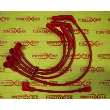 Cables de bujía de alta conductividad para Fiat Uno Turbo 1.300 Cables de vela específicos para automóviles