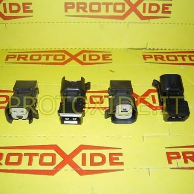 Conectores adaptadores para inyectores EV de Bosch Conectores eléctricos automotrices