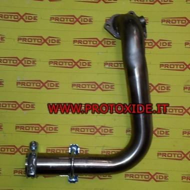 Downpipe scarico per Grande Punto 500 1.3 70hp Multijet acciaio inox Downpipe per motori Turbo Diesel