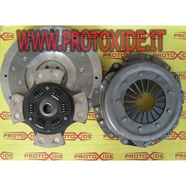 Kit Flywheel aluminum, copper clutch, pressure plate Suzuki SJ413 8-16v Steel flywheel kit complete with reinforced clutch