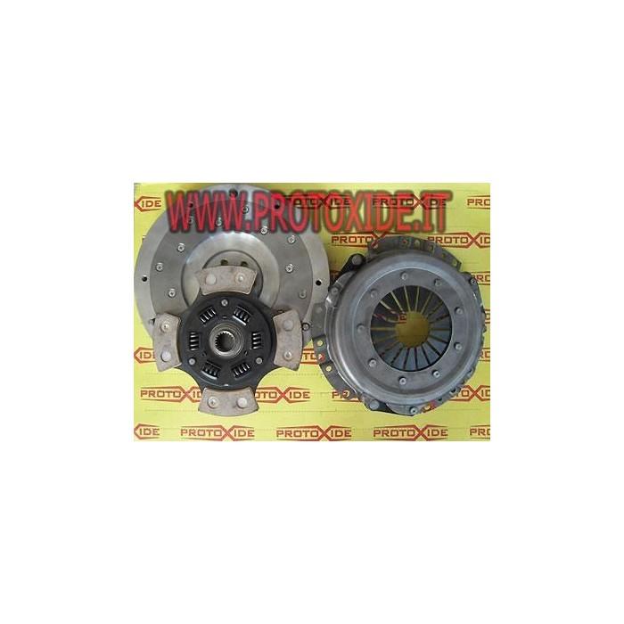 Kit Flywheel aluminum, copper clutch, pressure plate Suzuki SJ413 8-16v Steel flywheel kit complete with reinforced clutch