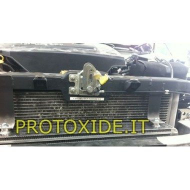Intercooler frontale maggiorato Alfaromeo Giulietta 1750 tb NEW VERSION Intercooler Aria-Aria