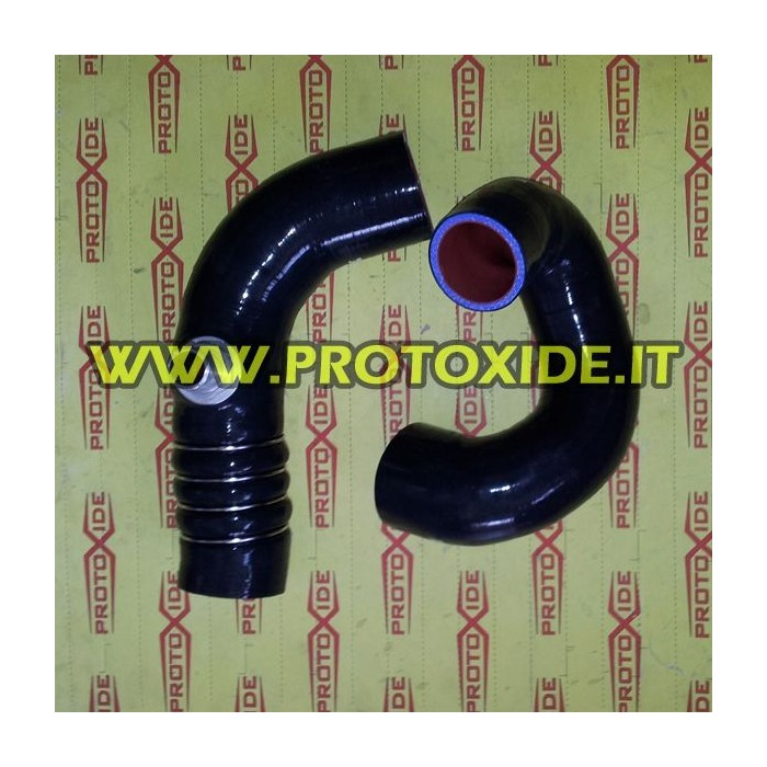 Silicon hoses blacks Turbo Lancia Delta 8V Specific sleeves for cars