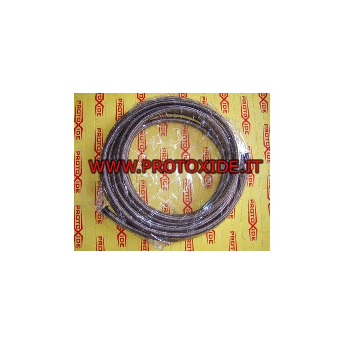 Metal braided hose 14mm Fuel pipes - braided oil and aeronautical fittings