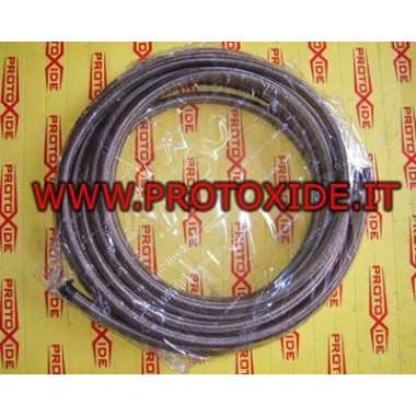 metal braided hose 8mm Fuel pipes - braided oil and aeronautical fittings