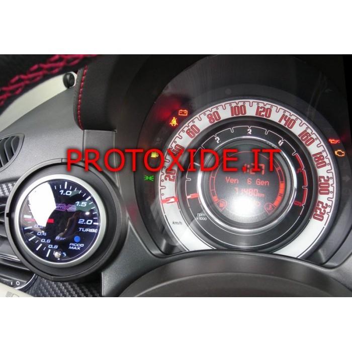 Turbo pressure gauge for Audi TT 2nd series
