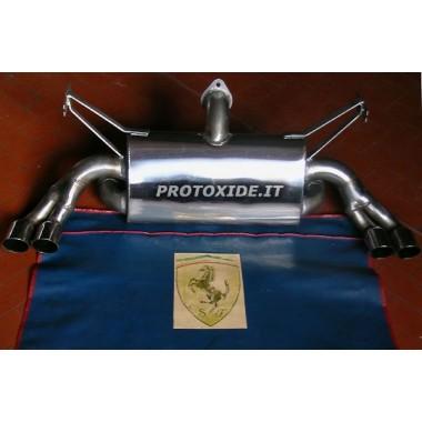 Purkamisen terminaali Ferrari 355 Pakoputkiston äänenvaimentimet ja terminaalit
