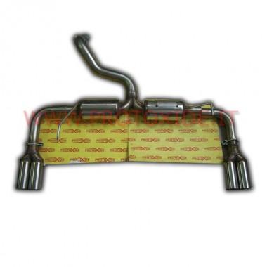Aizmugures izplūdes Audi TTS 2.0 Izplūdes gāzu noslēpumi un spailes