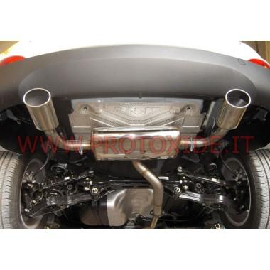 Bageste udstødning til Hyundai ix35 1.7 CRDI -2.0 Udstødningslygter og klemmer