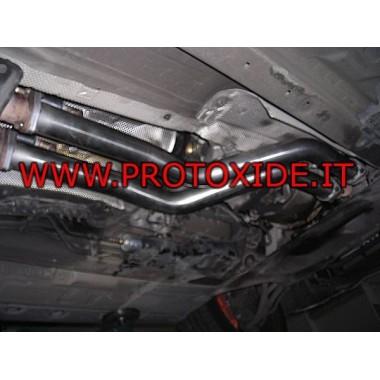 Sost.kat BMW E46 singură țeavă Catalizatori catalitic și fals