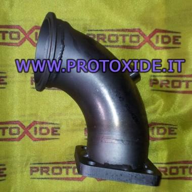 Downpipe scarico acciaio per Lancia Delta per chiocciola Tial Downpipe per motori turbo a benzina