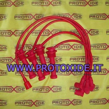 Cables de bujía roja para Suzuki swift 1300 16v Cables de vela específicos para automóviles