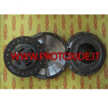 Kit reinforced single-mass flywheel 170hp VW AUDI 50kgm Steel flywheel kit complete with reinforced clutch