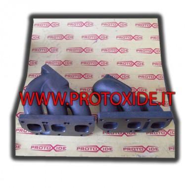 Exprimés collecteurs d'échappement de fer pour VW Golf V6 Biturbo 2.8 à 3.2 Collecteurs en fonte ou en fonte