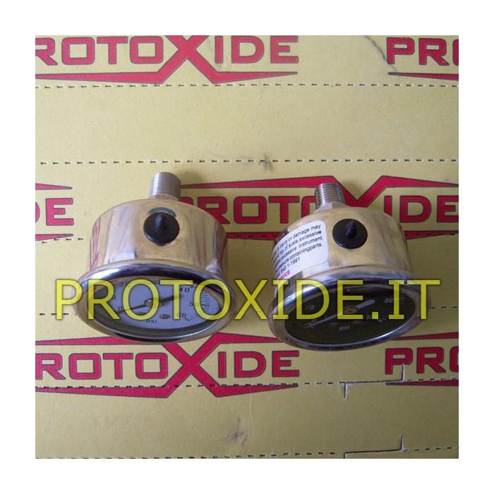 Fuel pressure gauge to screw Pressure gauges Turbo, Petrol, Oil