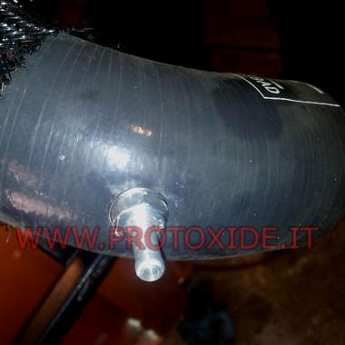 Slangkoppeling van manometer voor de uitlaatdruk en depressie Drukmeters Turbo, Benzine, Olie