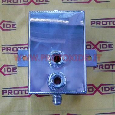 Bandeja de aluminio de 2 litros Baños para los tanques de aceite y combustible