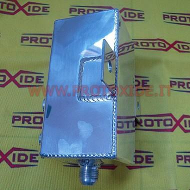 Bandeja de aluminio de 3 litros. Baños para los tanques de aceite y combustible