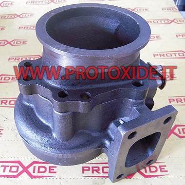 downpipe per turbo garrett GT28 con vband integrata Příruby pro turbodmychadlo, potrubí pro odvod potrubí a odpadky